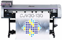 Mimaki CJV30-130 Printer Cutter (54-inch)
